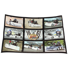 "These ""throws"" measure 54"" x 38"" and completely customized with your favorite photos. Each blanket sports 9 image panels that measure approx. 15"" x 9"" each. The 3 center panels are our famous ""FX"" designs!! Makes an ideal gift for mom, grandma, wife, or girlfriend!!!"